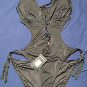 Fashion Nova Hang 10 Swimsuit 2X